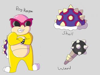 Roy Koopa ref by Pikachubee