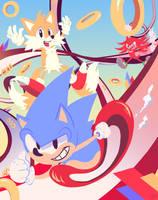 Sonic Mania  by Bassamii
