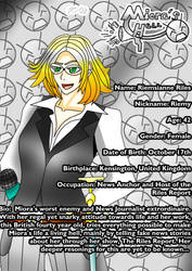 Miora's Hell Character Bios: Riemsianne Riles by Zecrus-chan