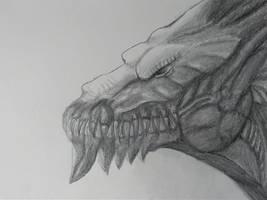 Dragon Sketch by Laguna-Dragon