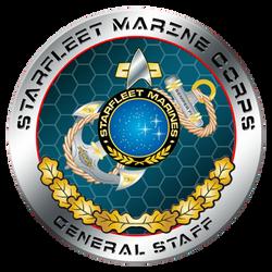 STARFLEET Marine Corps General Staff by NiemeyerStudios