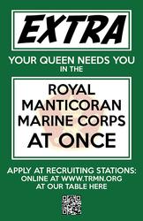 RMMC Recruitment Poster by NiemeyerStudios
