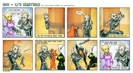 WoW + comic: hate huntars by justduet