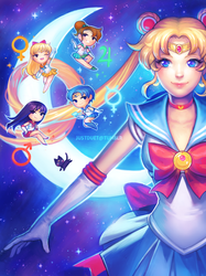 Sailor Moon by justduet