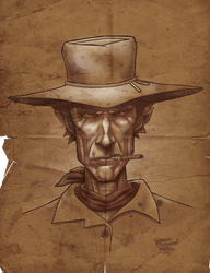 Clint Eastwood by TheoVision