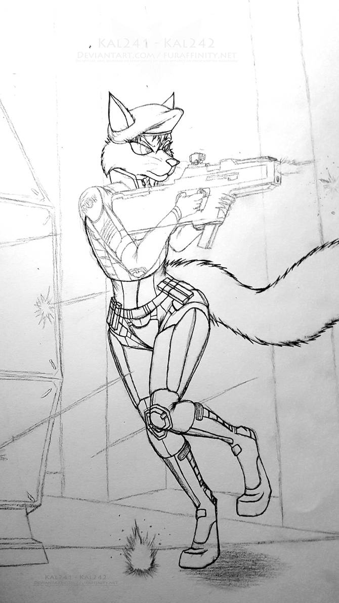 SDF Amber Sketch by Kal241