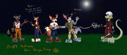 Happy Halloween by Dragon-Furry