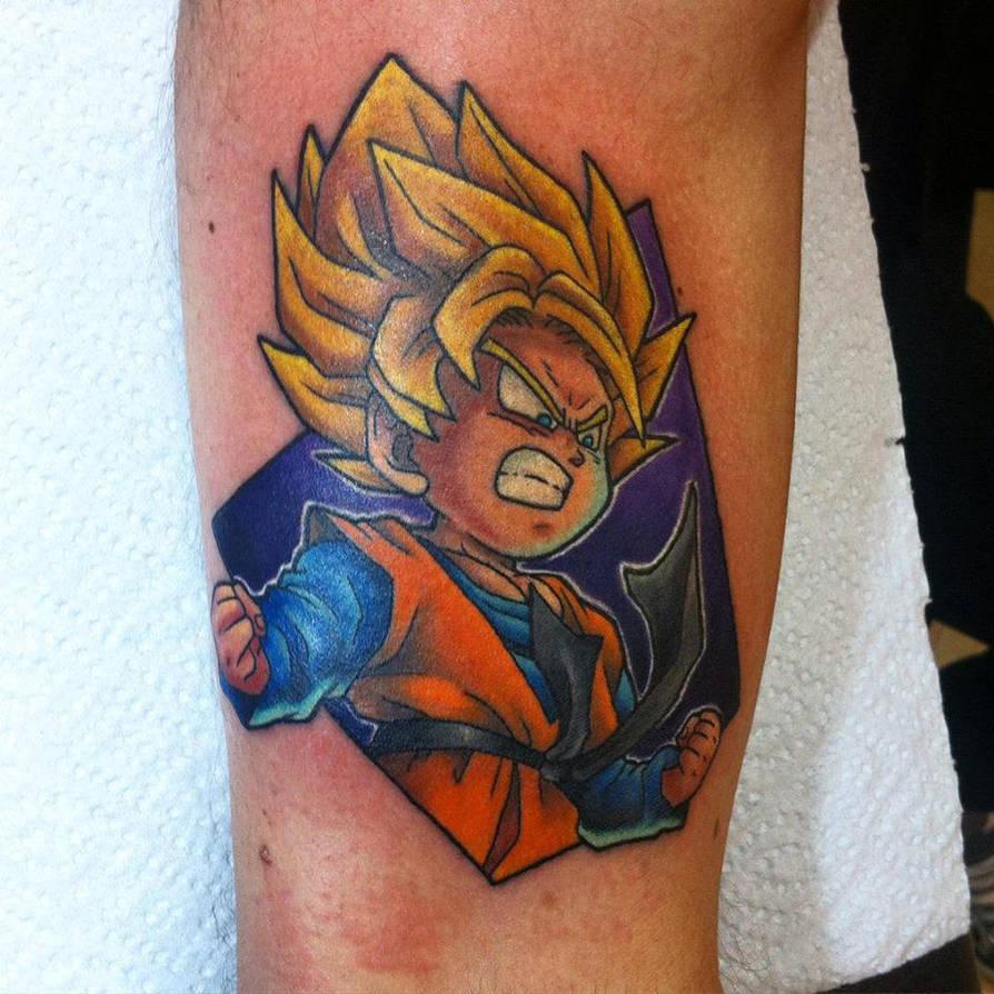 Goten Tattoo By Hamdoggz On Deviantart