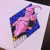 Super Buu Tattoo Design by Hamdoggz