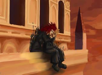 Twilight's Tower by sakuraswolf