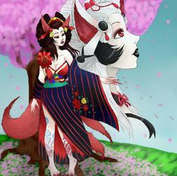 Onmyoji Fan Art Contest - Mio by ALittleLady