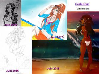 June Evolution by ALittleLady