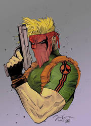 Grifter by Jim Lee  Snakebit by UncannyKyle