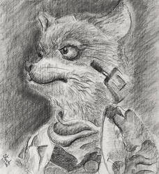 Fox McCloud by SulaimanDoodle