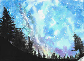 July fourth nigh sky by SulaimanDoodle