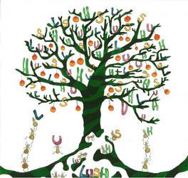 Lush tree by MIYUKITANABE