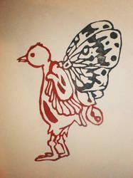 BIRD STAMP by MIYUKITANABE
