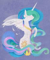 Celestia Silhouette by Evehly