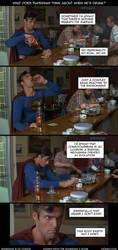 Drunk Superman by Diorgo