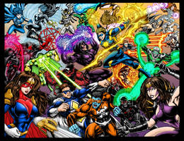 LEGION OF VALOR colors by jeaf7