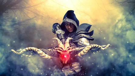 Demon Hunter - cosplay + edit by GERMIA by DATgermia
