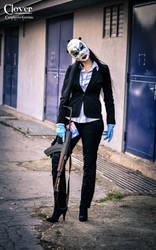Payday 2 - Clover the female heister by DATgermia