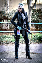 Payday 2 - Clover cosplay by DATgermia