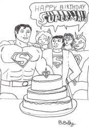 Happy 73'rd Birthday Sups by Godaiger