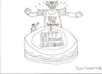 Happy Birthday Datona by Godaiger