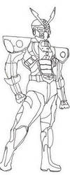 Godaiger: Combat Armor Mode by Godaiger