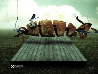 Fliegender Fisch by Pixelnase