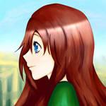 Practice: A girl. #44 (6 July 2018) by khaospedia