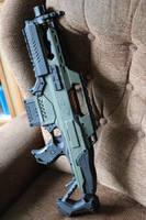 Nerf Pulse rifle by BROFISTICUSMAXIMUS