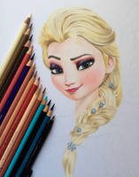 WIP Elsa by iSaBeL-MR