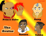 The Avatar - Heroes en villian by TR-Kurt