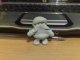 Abis Mal made from Blu Tack XD by TR-Kurt