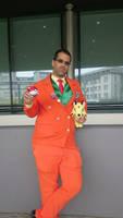 Giovanni of Team Rocket at AnimeCon 2016 by TR-Kurt