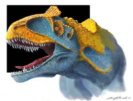 Cryolophosaurus ellioti by Telera1701