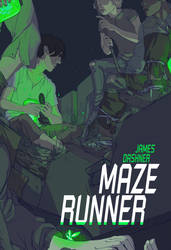 Maze Runner Book Cover by hannahgregory