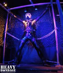 Latex Spreadeagle 02 by heavybondage