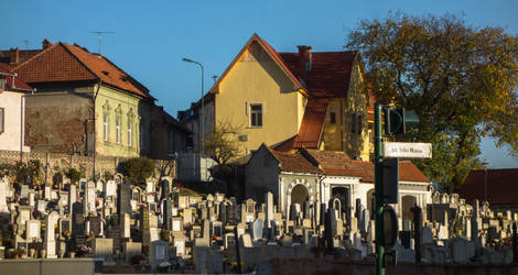 The Reformed Cemetery in daylight by EnacheArmand