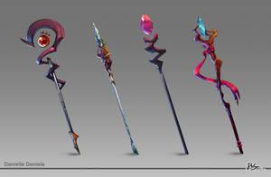 RPG staffs by DroseAttack