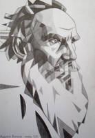 Leo Tolstoy by bazaroff