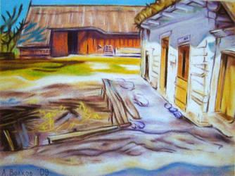 Houses at Grebowo by bazaroff
