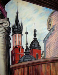 Towers of St. Mary's Basilica by bazaroff