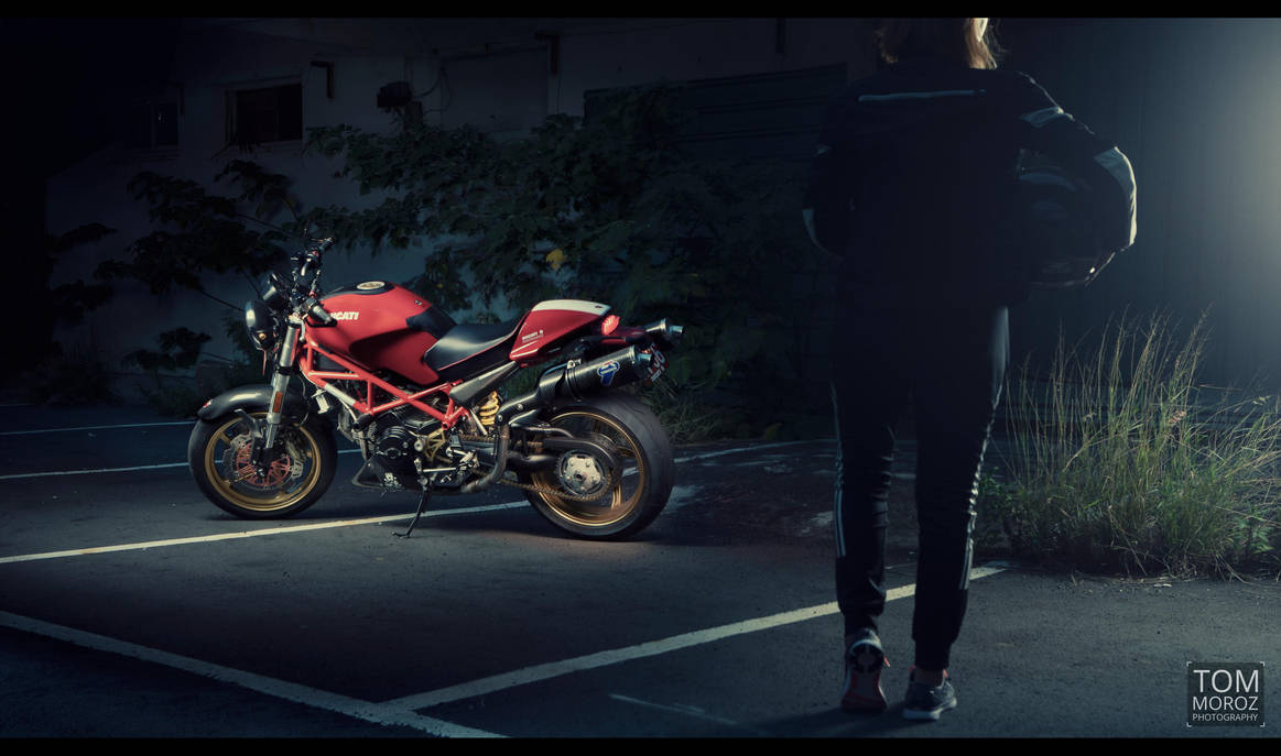 Ducati Monster 695 - ready to ride by tmz99