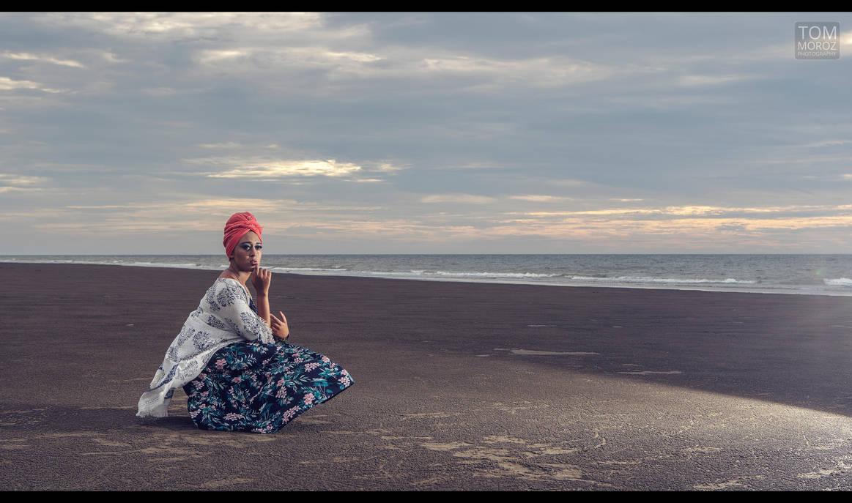Jamie on the beach by tmz99