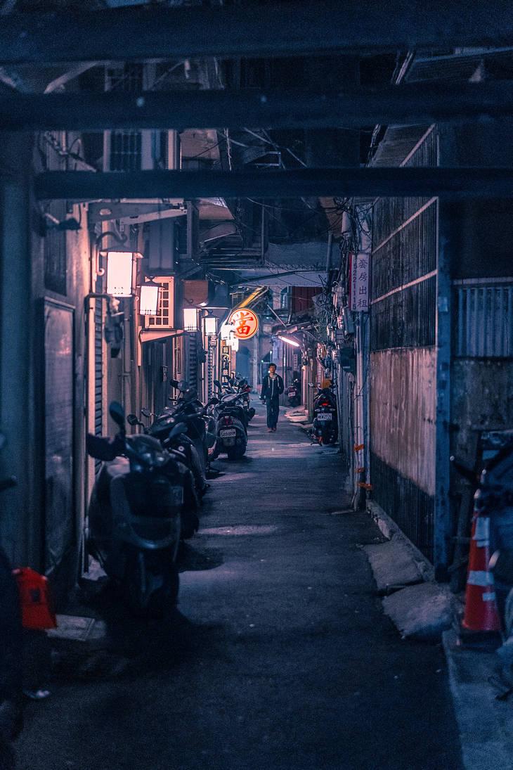 The Dark Street by tmz99