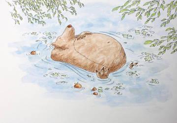 Take a nap by Tisseur-de-reves
