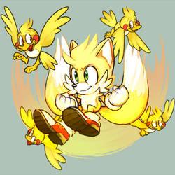 Super Tails by 8Xenon8